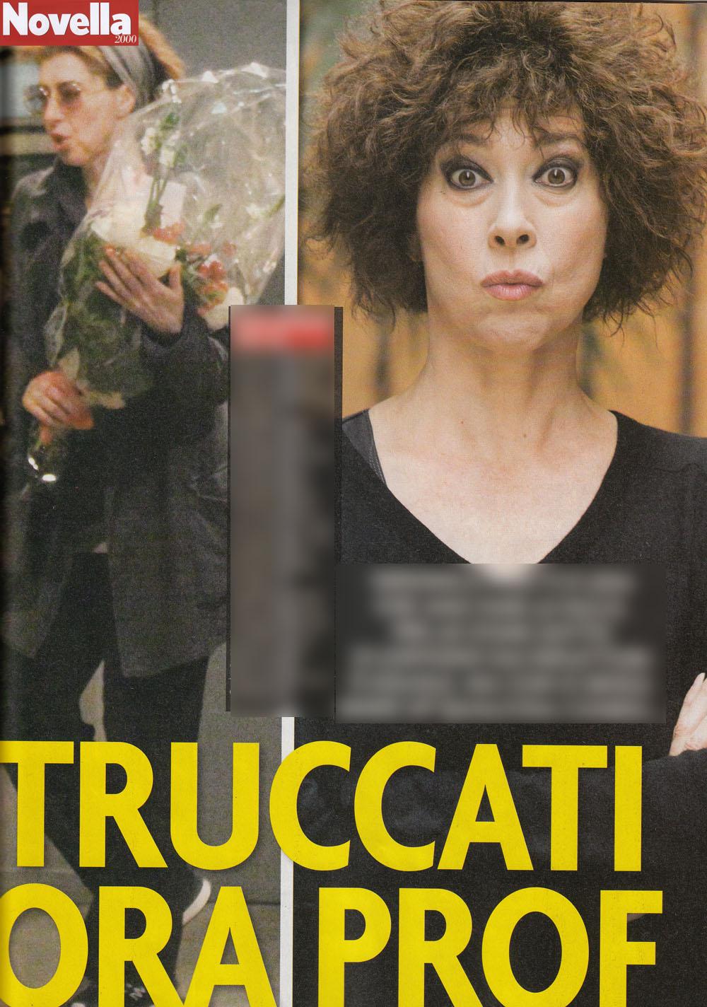 Veronica Pivetti, senza trucco è da paura